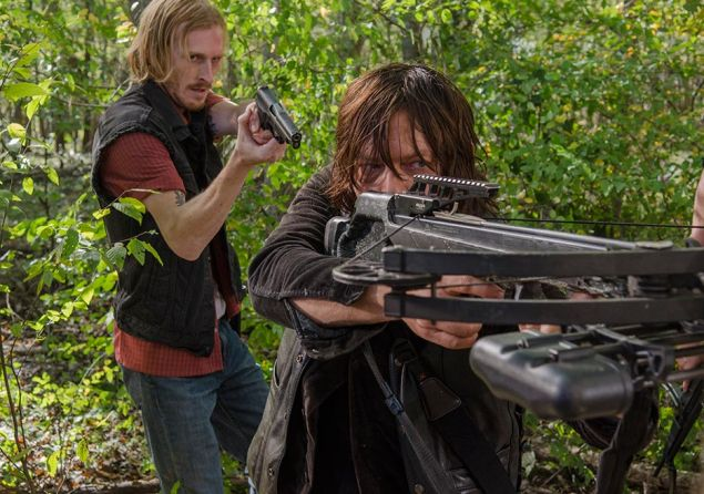 Austin Amelio and Norman Reedus.