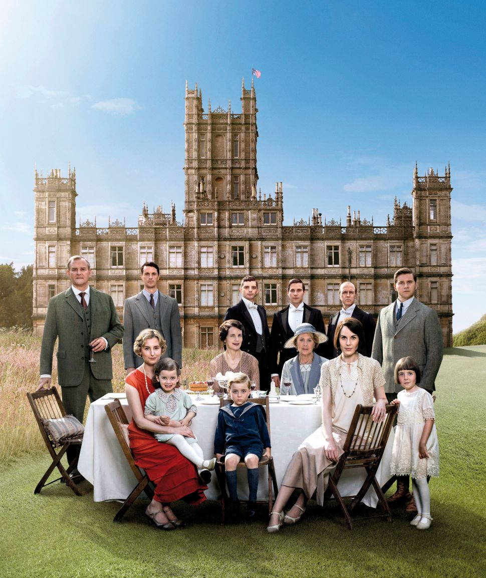 The cast of Downton Abbey.