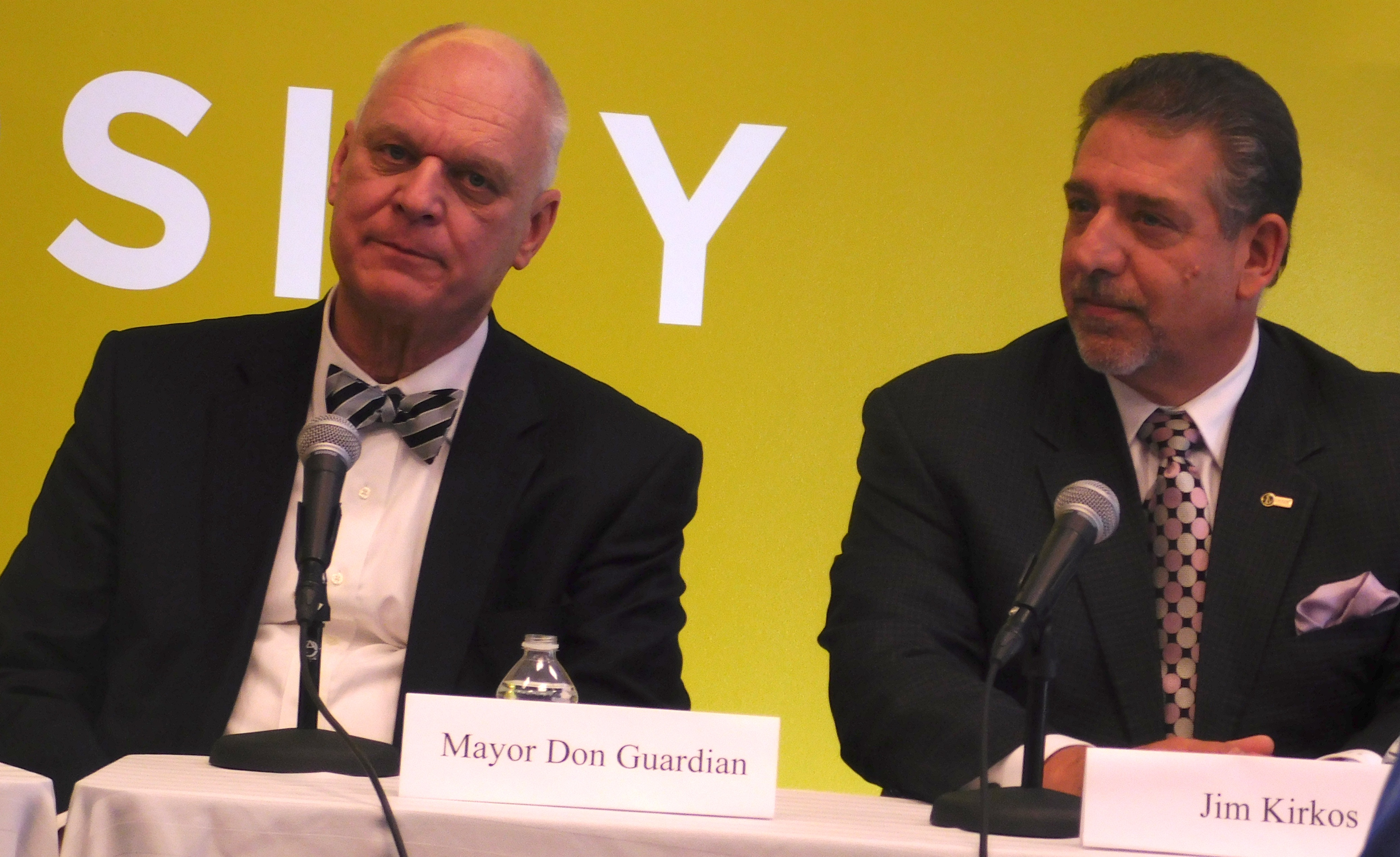 Guardian and Kirkos were on a panel about Jersey City expansion.