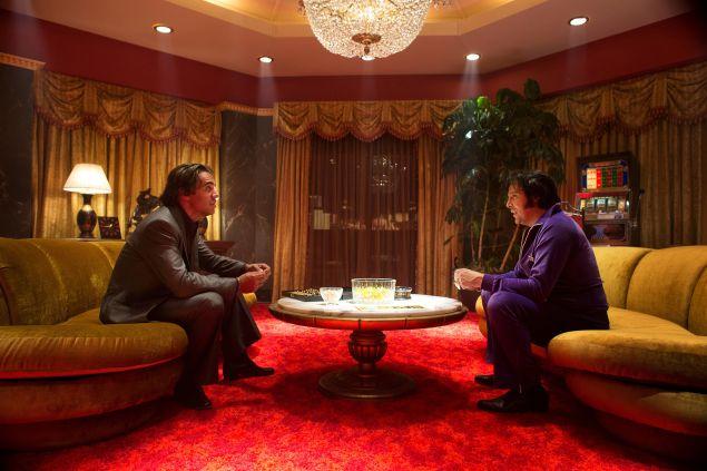 Bobby Cannavale as Richie Finestra and Shawn Klush as Elvis Prestley.