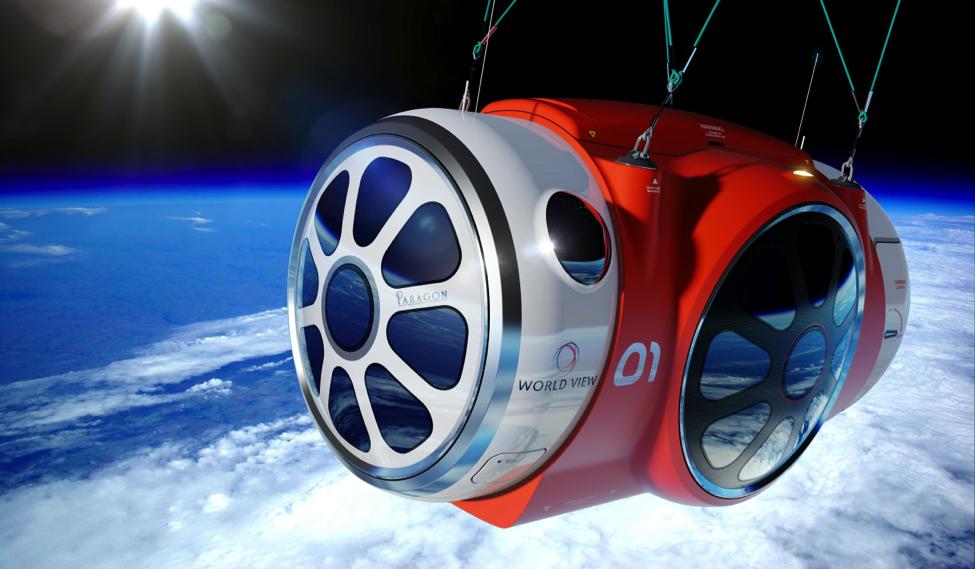 World View passenger capsule concept