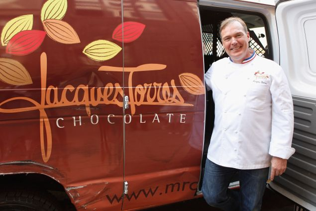 Maybe he used this chocolate van for moving purposes?