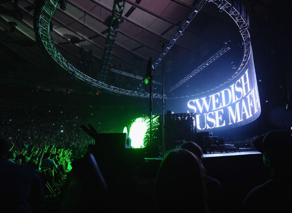 Swedish House Mafia in concert at Madison Square Garden.