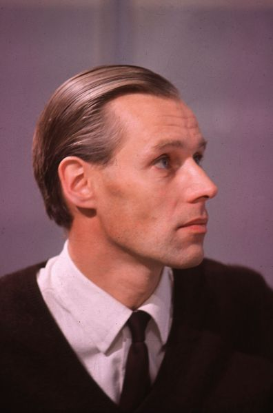 1965: 60s pop music producer George Martin, known as the fifth Beatle. He also worked with Cilla Black, Gerry & the Pacemakers and Billy J Kramer and set up his own studio, AIR London in 1965.
