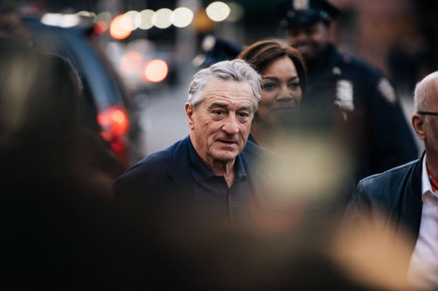 Robert De Niro at the Tribeca Film Festival in 2015
