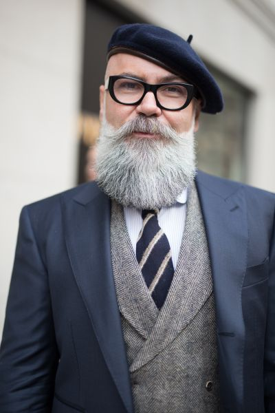 A beard like this takes a lot of work