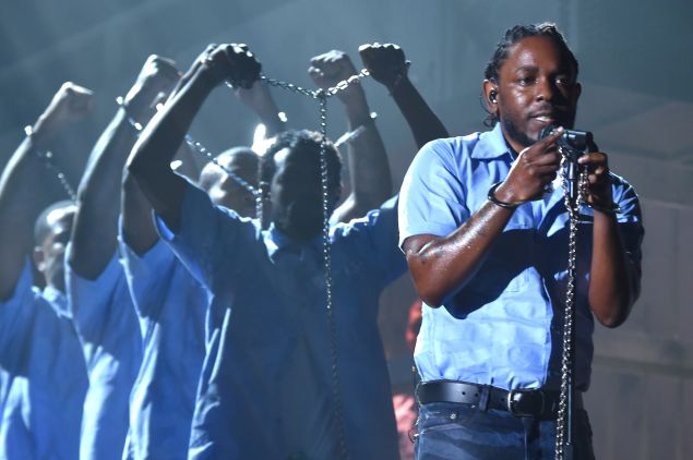 Kendrick at the Grammys