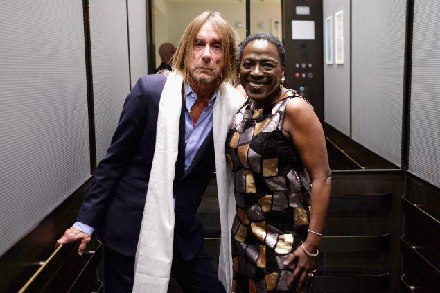 Iggy Pop and Sharon Jones in February