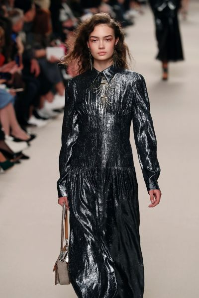 The metallic dress that missed the mark