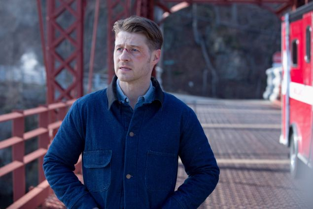 Ben McKenzie as Jim Gordon in Gotham.