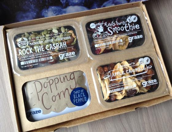 Graze snack box