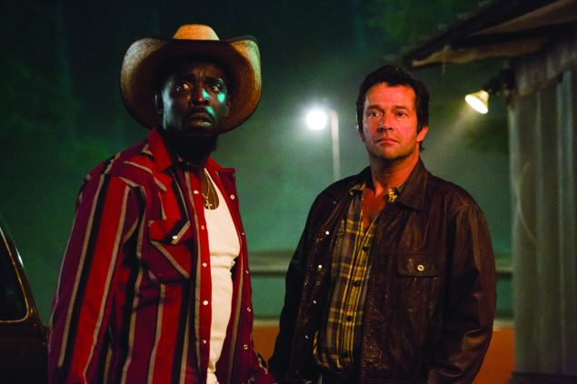 Michael K. Williams and James Purefoy in Hap and Leonard.