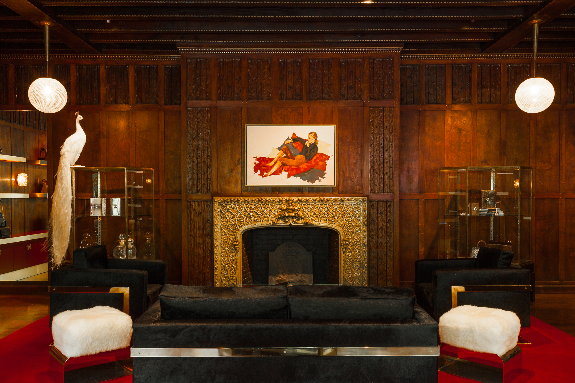 Hayward House Fireplace