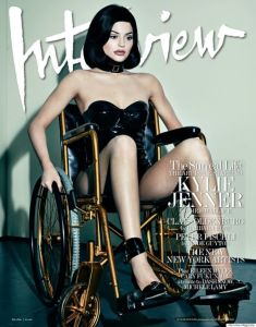 Kylie Jenner in Tableaux Vivants on the cover of Interview Magazine