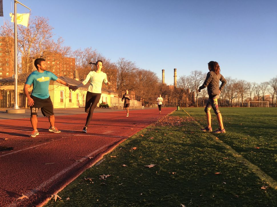 Mile High Run Club's Outdoor Run at The East River Track