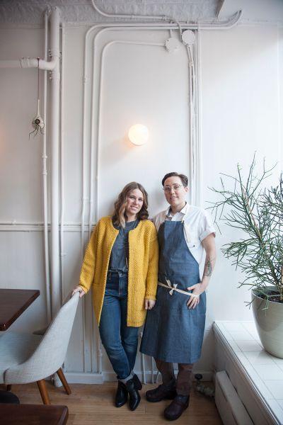 Elise Kornack and Anna Hieronimus