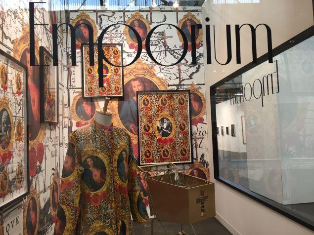 Kudzanai Chiurai, Emporium, (2016), at Goodman Gallery.