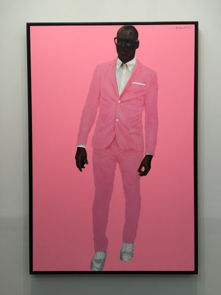 Barkley L. Hendricks, Photo Bloke, (2016) at Jack Shainman Gallery.