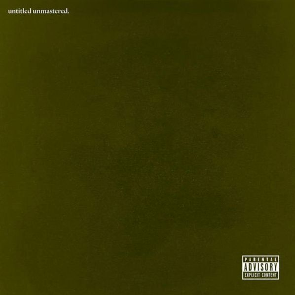 The artwork for untitled unmastered.