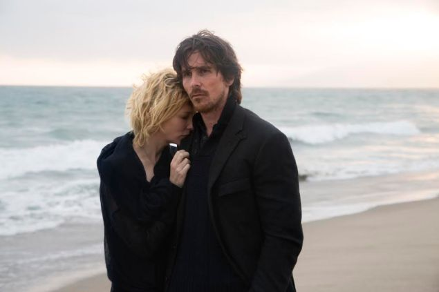 Cate Blanchett and Christian Bale in Knight of Cups.