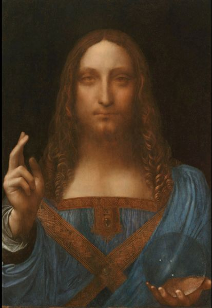 The Leonardo da Vinci painting titled Salvator Mundi purchased by from