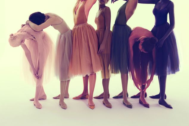 The seven shades of nude