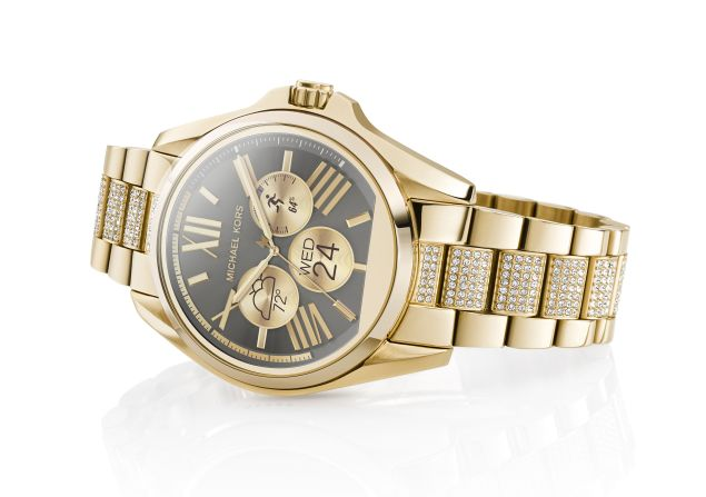 The women's version of the new Michael Kors smartwatch