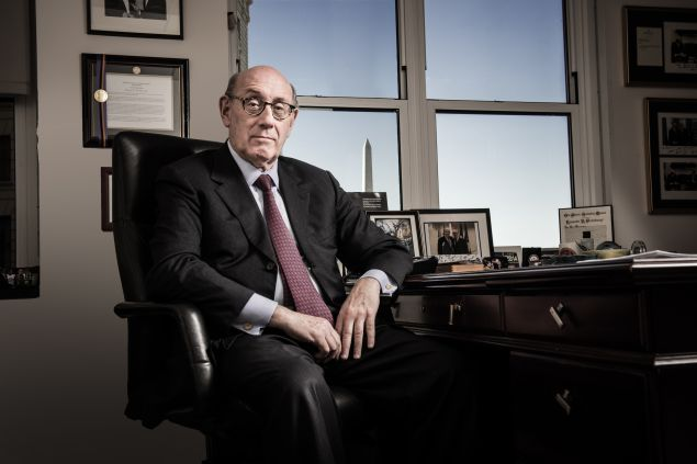 Ken Feinberg, at his office in Washington DC.