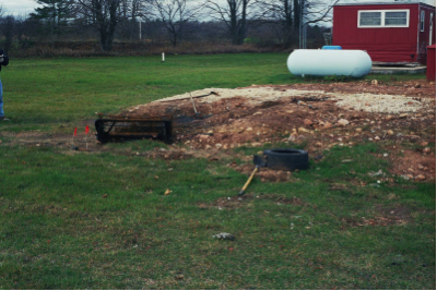 The burn pit from Making a Murderer.