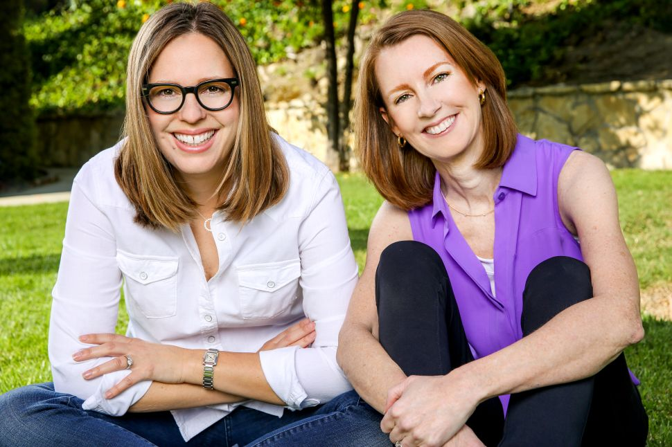 Elizabeth Craft and Gretchen Rubin, the co-hosts of Happier.