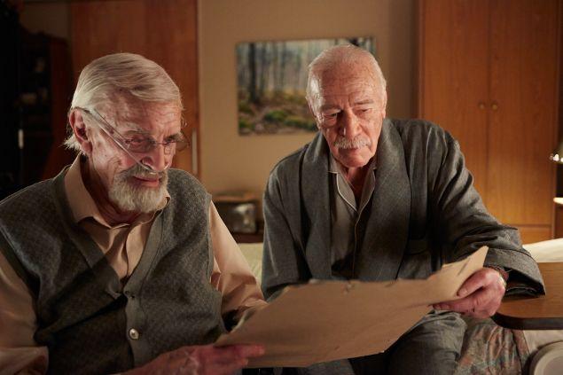 Martin Landua, left, and Christopher Plummer in Remember.