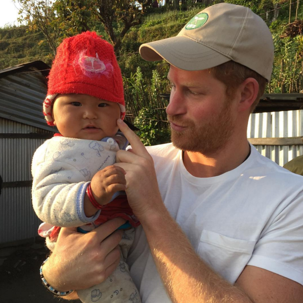 kensingtonroyalPrince Harry took a number of photos and videos during his official tour of Nepal. He is now working with Team Rubicon helping a community to reconstruct a school damaged in last year's earthquake. He wanted to share some of his favourite photos from Leorani village in west Nepal, where he stayed overnight with a local family. For a couple of these he has provided captions in his own words....this one, though, speaks for itself! Hope you enjoy his photos - thanks for all the lovely comments over the last few days.