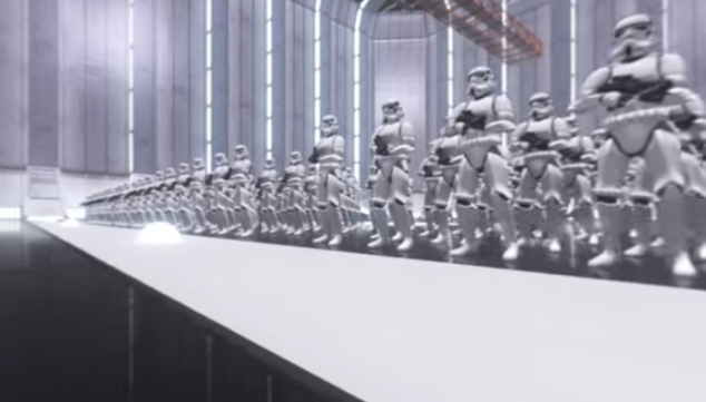 Star Wars: The Force Awakens in VR.