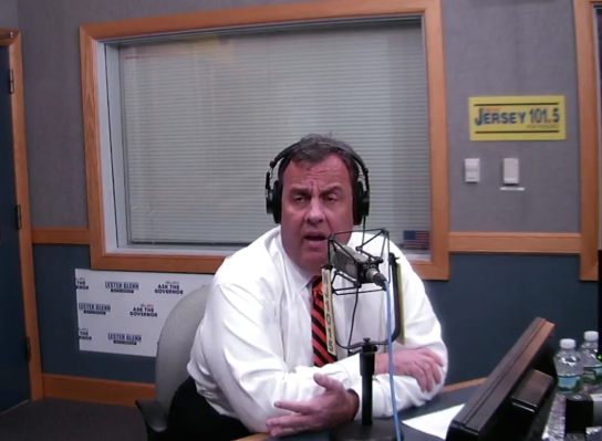 Christie on NJ 101.5, where he said he would not allow Atlantic City to declare bankruptcy