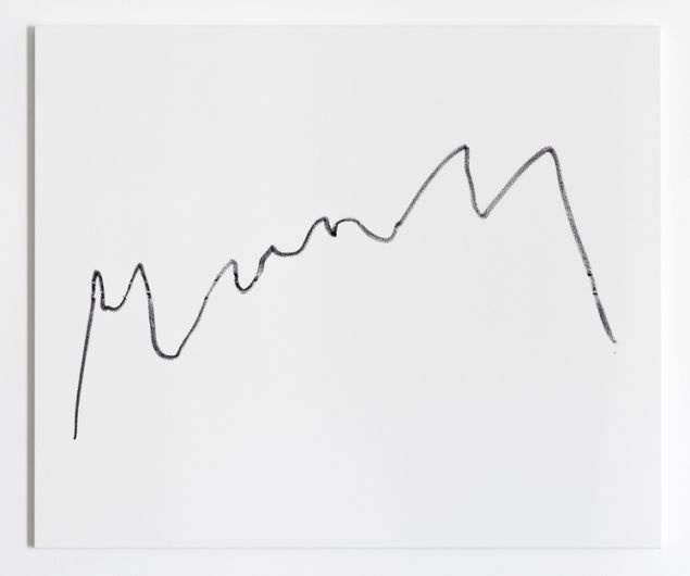 Sarah Meyohas' artwork inspired by stocks' fluctuating values.