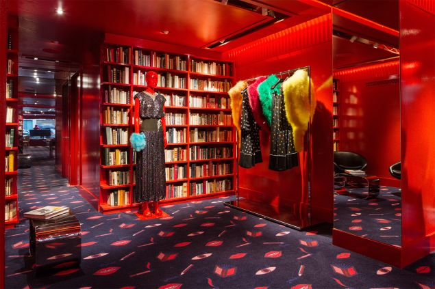 Colorful furs and historic tomes