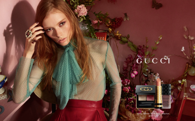 The Gucci Spring/Summer campaign