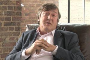 Comedian Stephen Fry.
