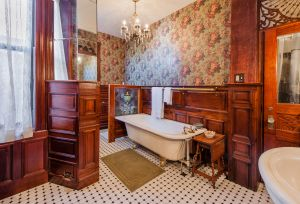 The master bathroom at 247 Hancock.