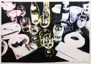 Andy Warhol, After the Party, 1979. Print. Included in Paddle8's Lynn Wyatt auction, estimate $10,000–$15,000.