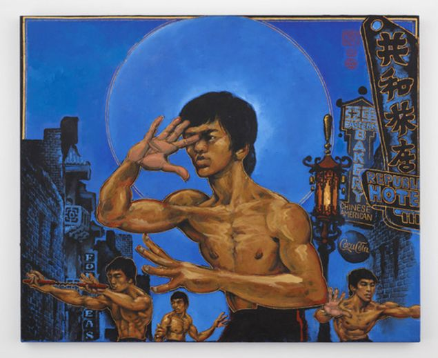 Martin Wong's  Clones of Bruce Lee, 1992.