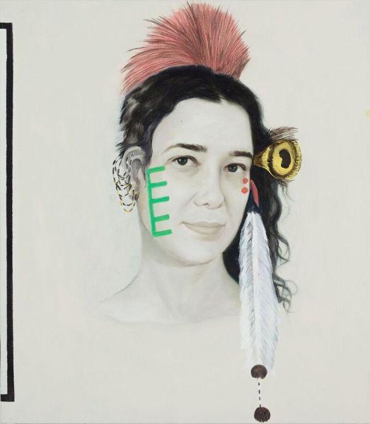 Adriana Varejão, Kindred Spirits (detail), 2015.