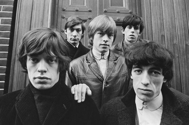 The Rolling Stones, left to right: Mick Jagger, Charlie Watts, Brian Jones, Keith Richards and Bill Wyman
