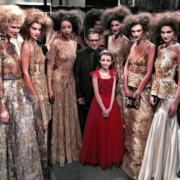 Trinity's wish to walk a NYFW runway is granted with Naeem Khan
