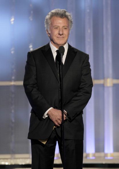 Actor Dustin Hoffman.