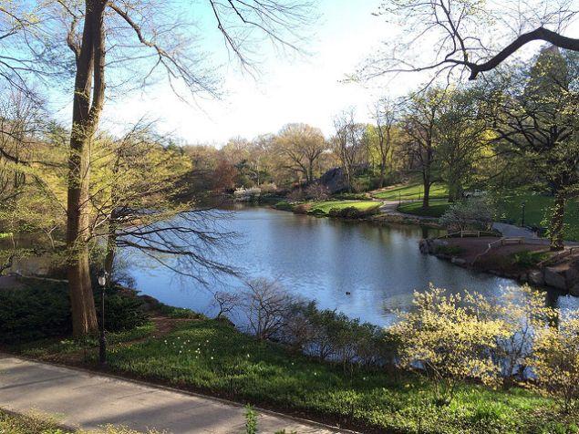 April in New York.