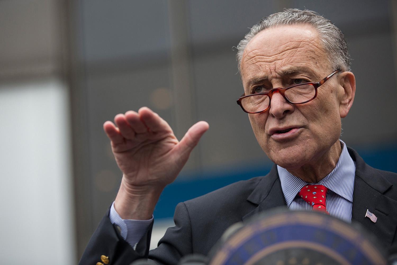 Senator—and likely future Majority Leader—Charles Schumer.