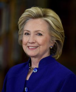 Democratic presidential candidate and former U.S. Secretary of State Hillary Clinton.