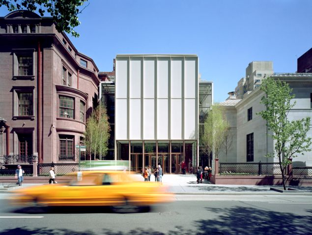 The Morgan Library & Museum, View of the new Madison Avenue entrance.