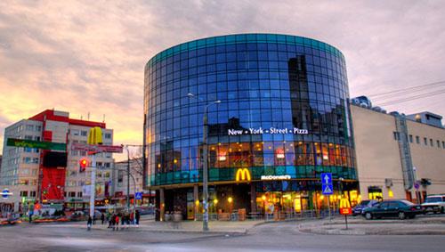 MagiGrand shopping mall in Vinnitsa.